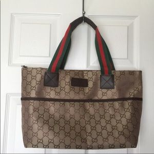 Gucci shopping tote bag